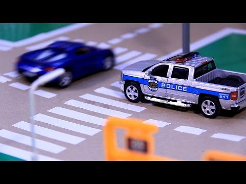 sergeant cooper the police car real city heroes rch videos for children