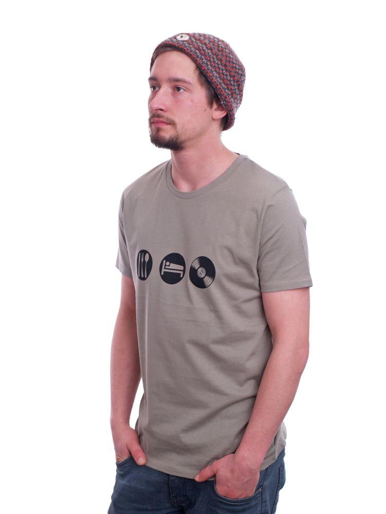 T-Shirt Eat & Sleep von Spangeltangel bei Kult-Design-Unikate