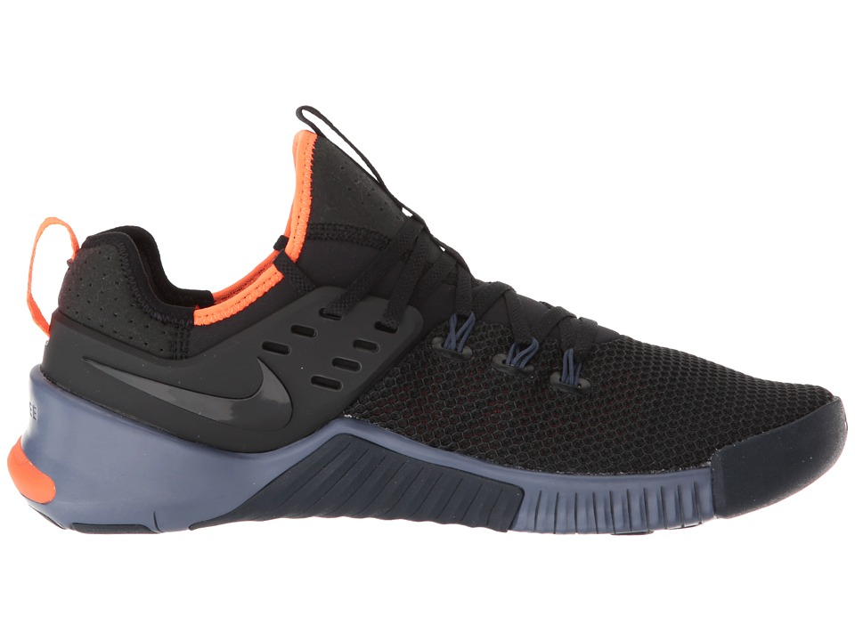 ccba4c022a1 Nike Metcon Free Men s Cross Training Shoes Black Thunder Blue Hyper Crimson