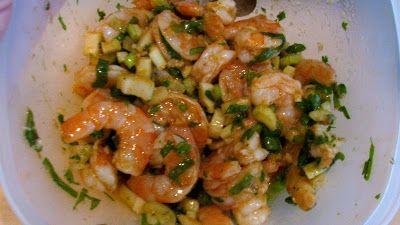 Rita's Recipes: Marinated Shrimp