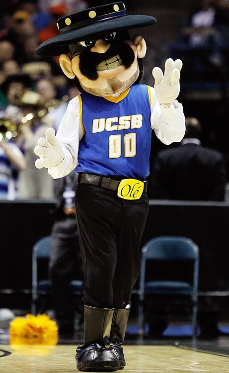 Uc Santa Barbara Gauchos Mascot The Gaucho Uc Santa Barbara Mascot Ncaa