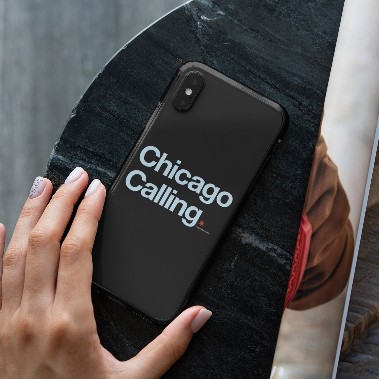 No matter where we are, there's always something calling us back. Available on shirts and cases and more in our shop at . #chicagogram #chicagolove #oddhuman #ilovechicago #chicagonative