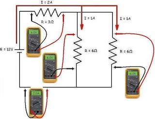 ohm s law series parallel circuits calculation electrical rh pinterest com how to learn electrical wiring diagram how to learn electrical wiring pdf