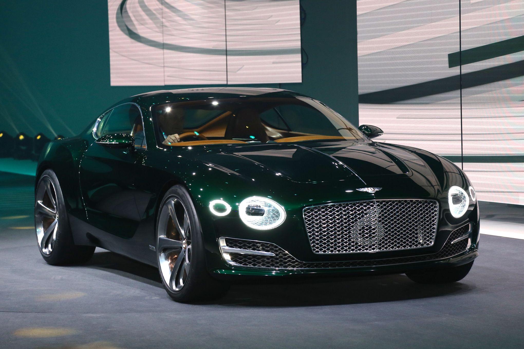 bentley exp 10 speed 6 concept front three quarter 02 | dream car