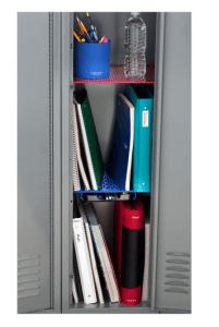 extra tall locker shelves to optimally organize your school locket rh pinterest com DIY School Locker Shelves Locker Shelves Walmart