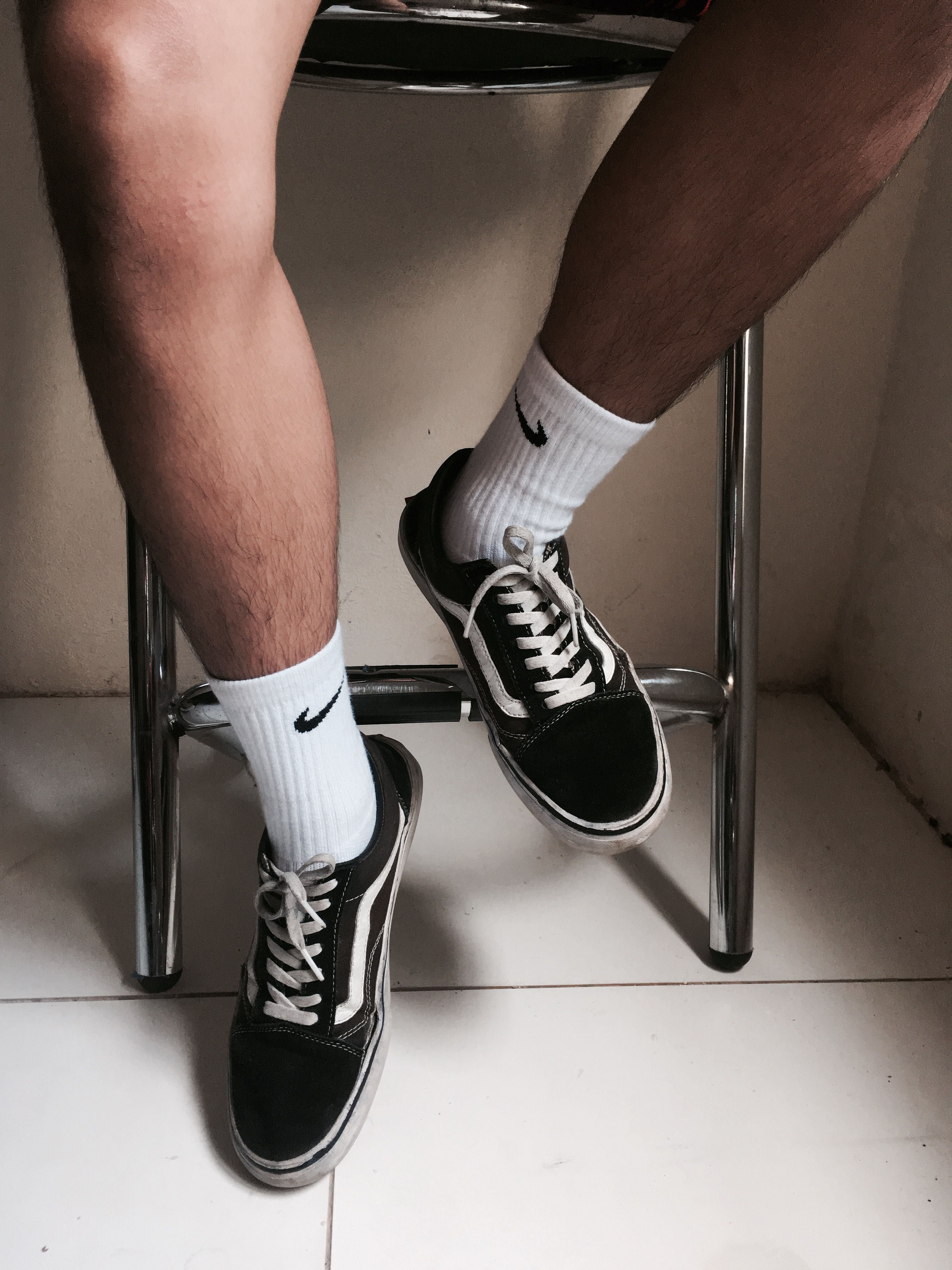 Nike socks and vansoldskool #nike