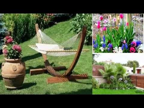 Ejemplo de peque os jardines y patios decorados video 3 de for Patios de casas decorados con piedras