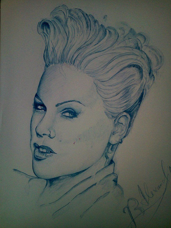 official p nk fan art