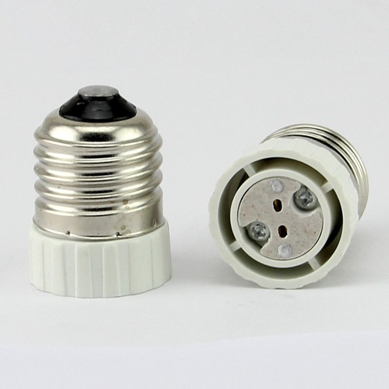E27 To Mr16 Lamp Holder Adapter Converter Mr16 Led Light Lamp Adapter Screw Socket E27 Ceramic Lamp Holder E27 To Gu Light Bulb Lamp Lamp Holder Bracket Lamp