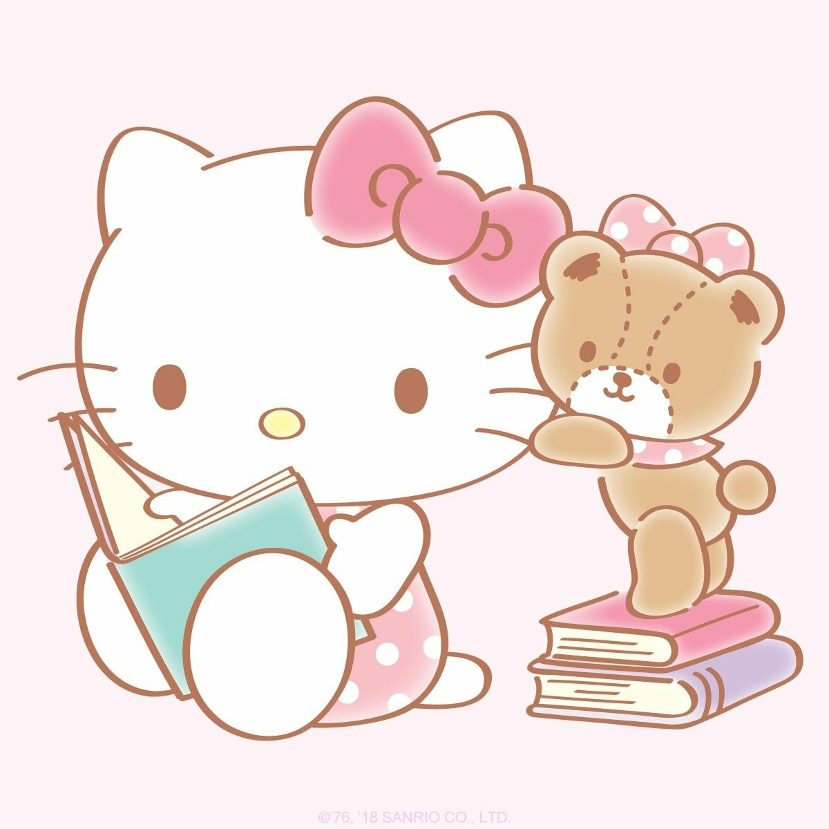 Hello World Poetry Day Share Your Favorite Poems With Hello Kitty Hello Kitty Backgrounds Hello Kitty Coloring Melody Hello Kitty