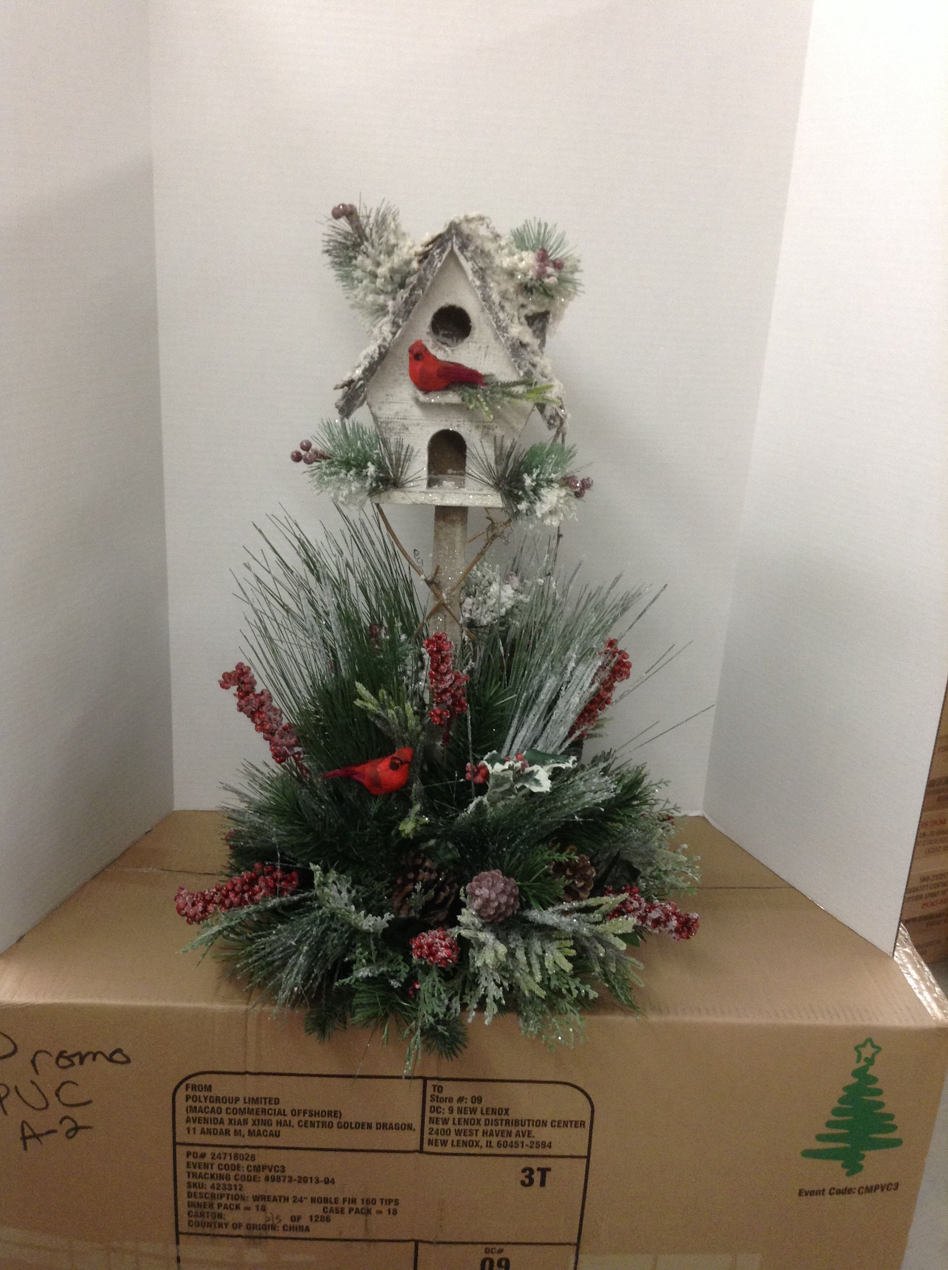 Christmas birdhouse | christmas porchs | Pinterest | Weihnachten