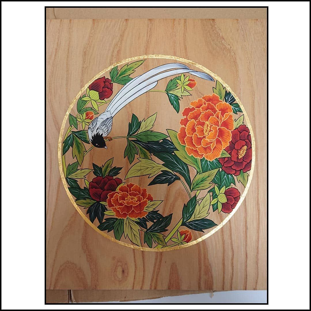 彩色 絵画 Art Asianart Picture Illustration Painting 日本画