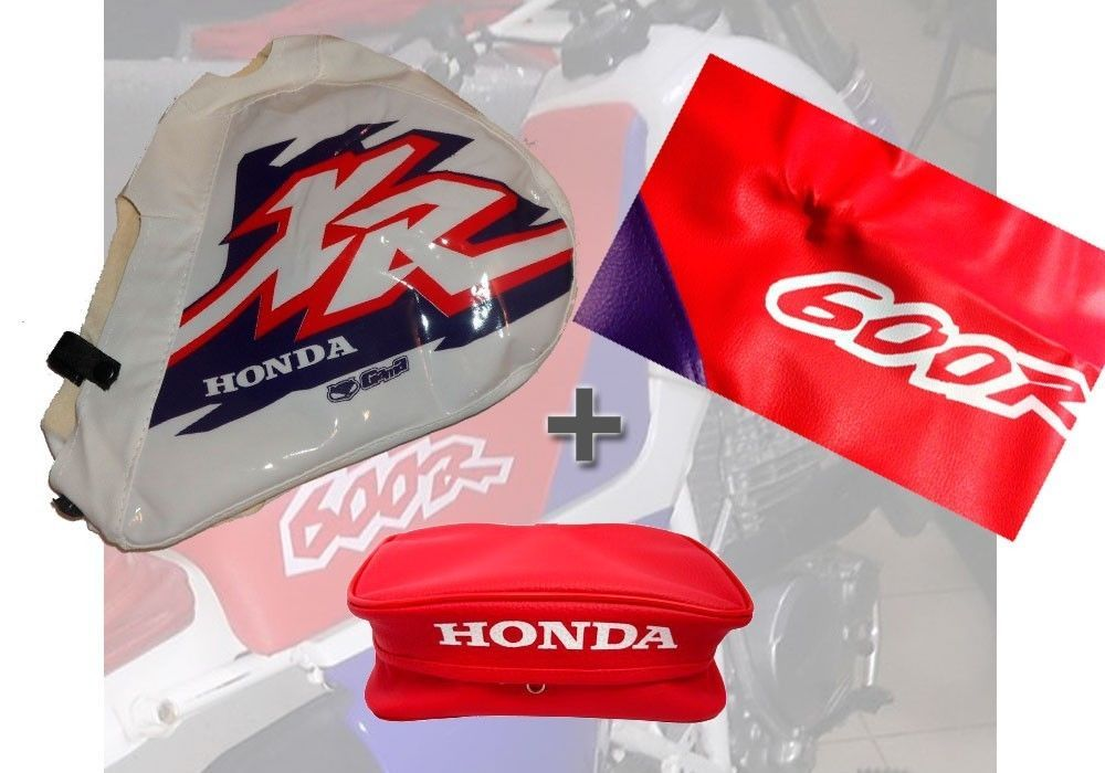 KIT SEAT COVER TANK COVER /& Rear fender Bags HONDA XR600 Xr 600 XR600R
