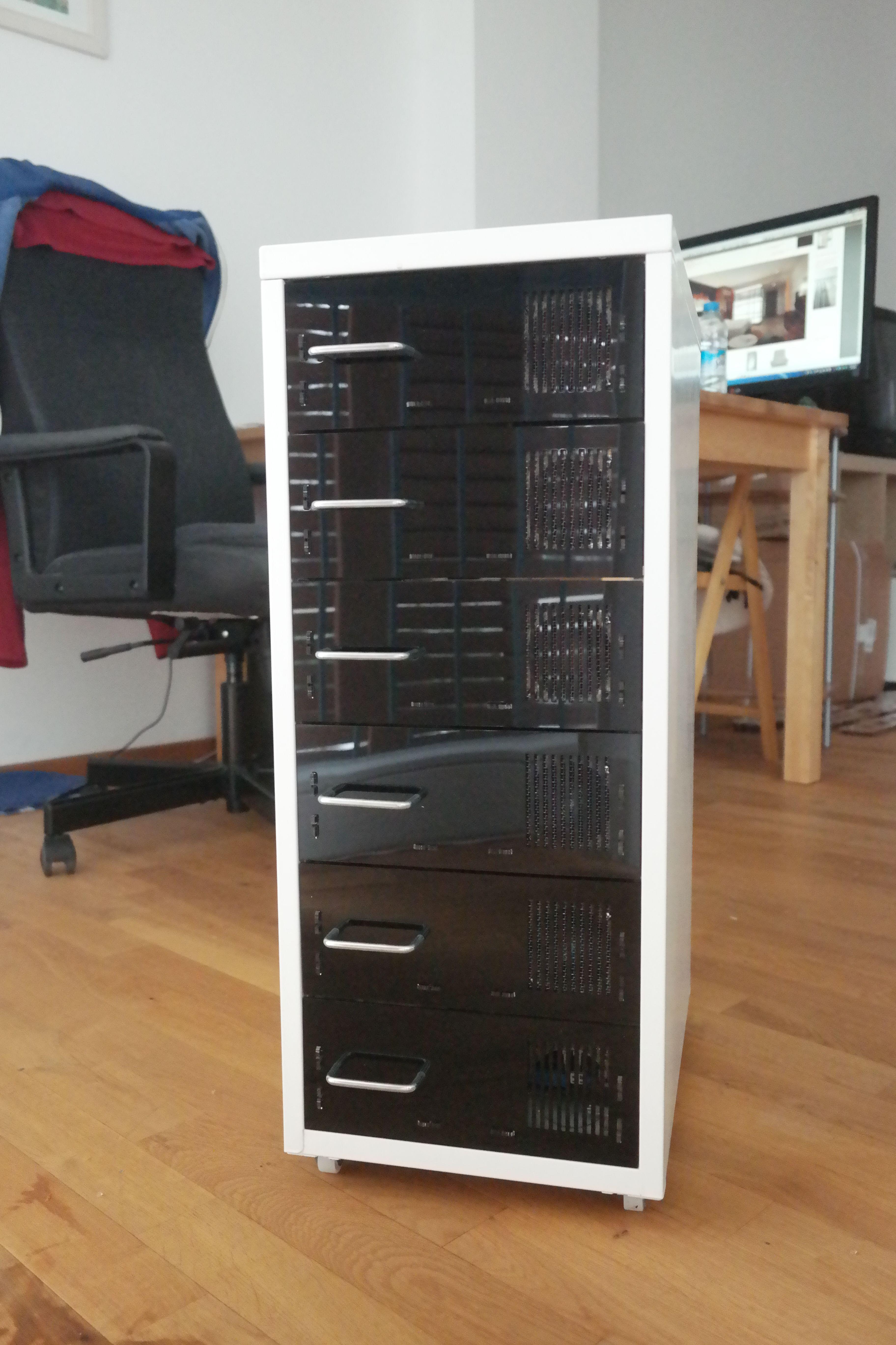 Renderpockets Diy Helmer Renderfarm Server Rack Server