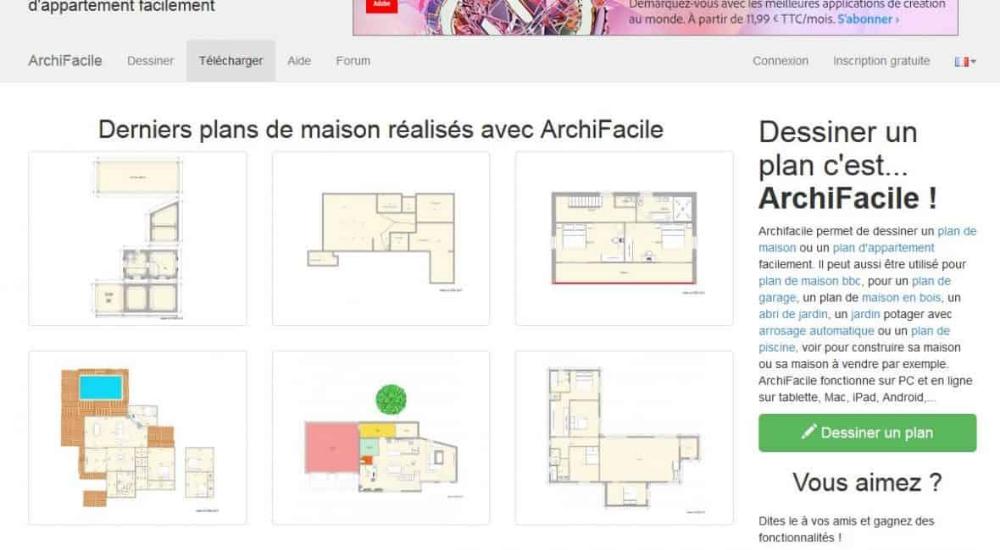 Presentation Du Logiciel Pour Plan De Maison Archifacile Plan De Maison Gratuit Logiciel Plan Maison Plan Maison
