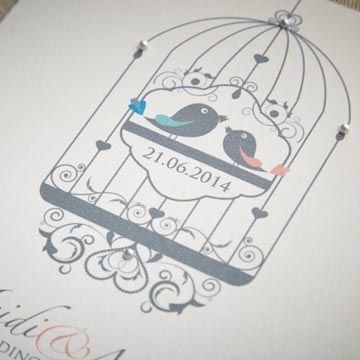 Photo of Vogelkäfig Hochzeitseinladungen – Google-Suche