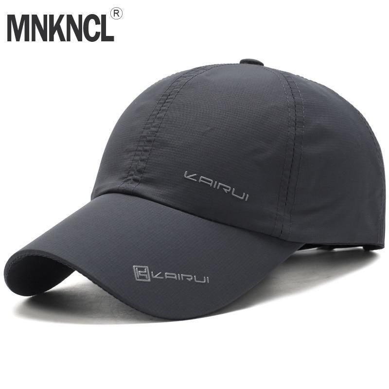 47c887420fd MNKNCL 2018 New Baseball Cap Leisure Sport Cap Summer Quick-drying Sun Hat  Unise