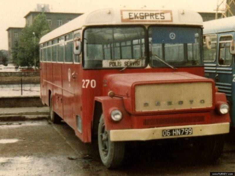 Desoto otobüs