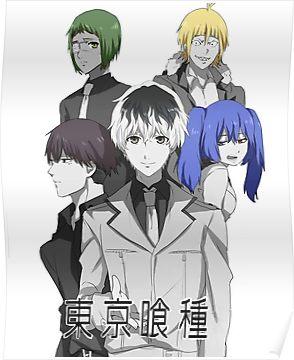 Tokyo Ghoul Re Poster Tokyo Ghoul Anime Tokyo Ghoul Season 3 Tokyo Ghoul