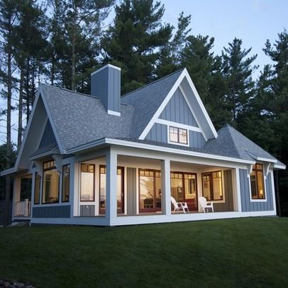 lake cottage design