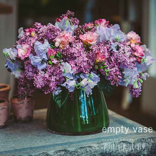 Violet Reflection Empty Vase Florist Gardens Pinterest Florists