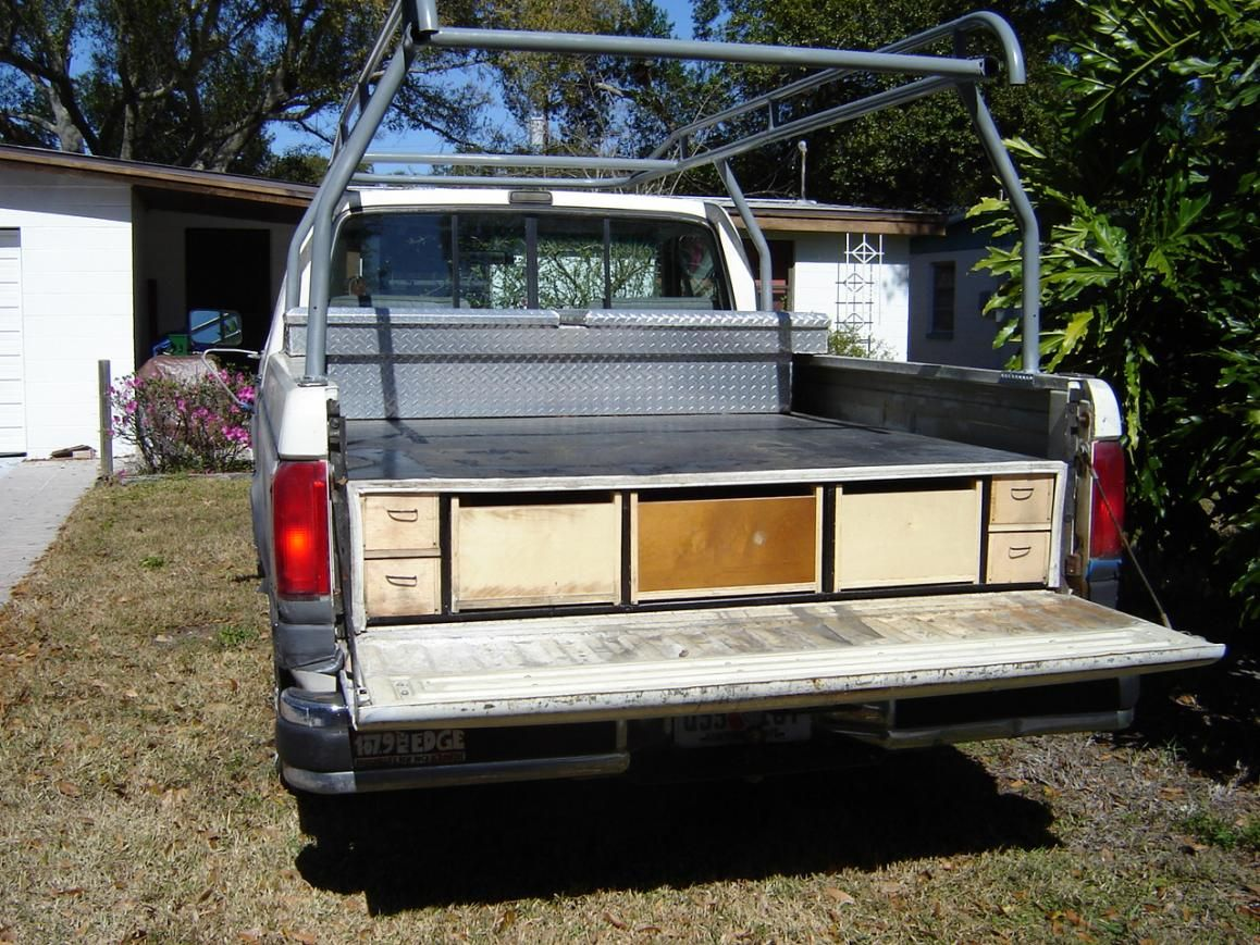 homemade truck bed slide | truck bed slide-truck-drawers-001