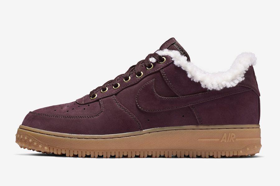 Nike Air Force 1 PRM Winter Mens Trainers Av2874 600 Sneakers Shoes