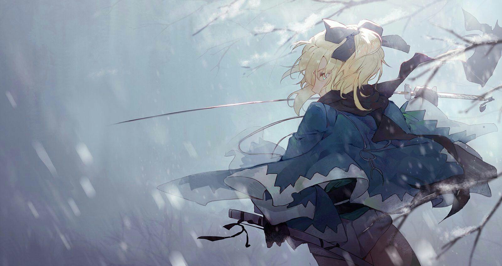 桜セイバー Fate イラスト Fgo イラスト アニメ戦士