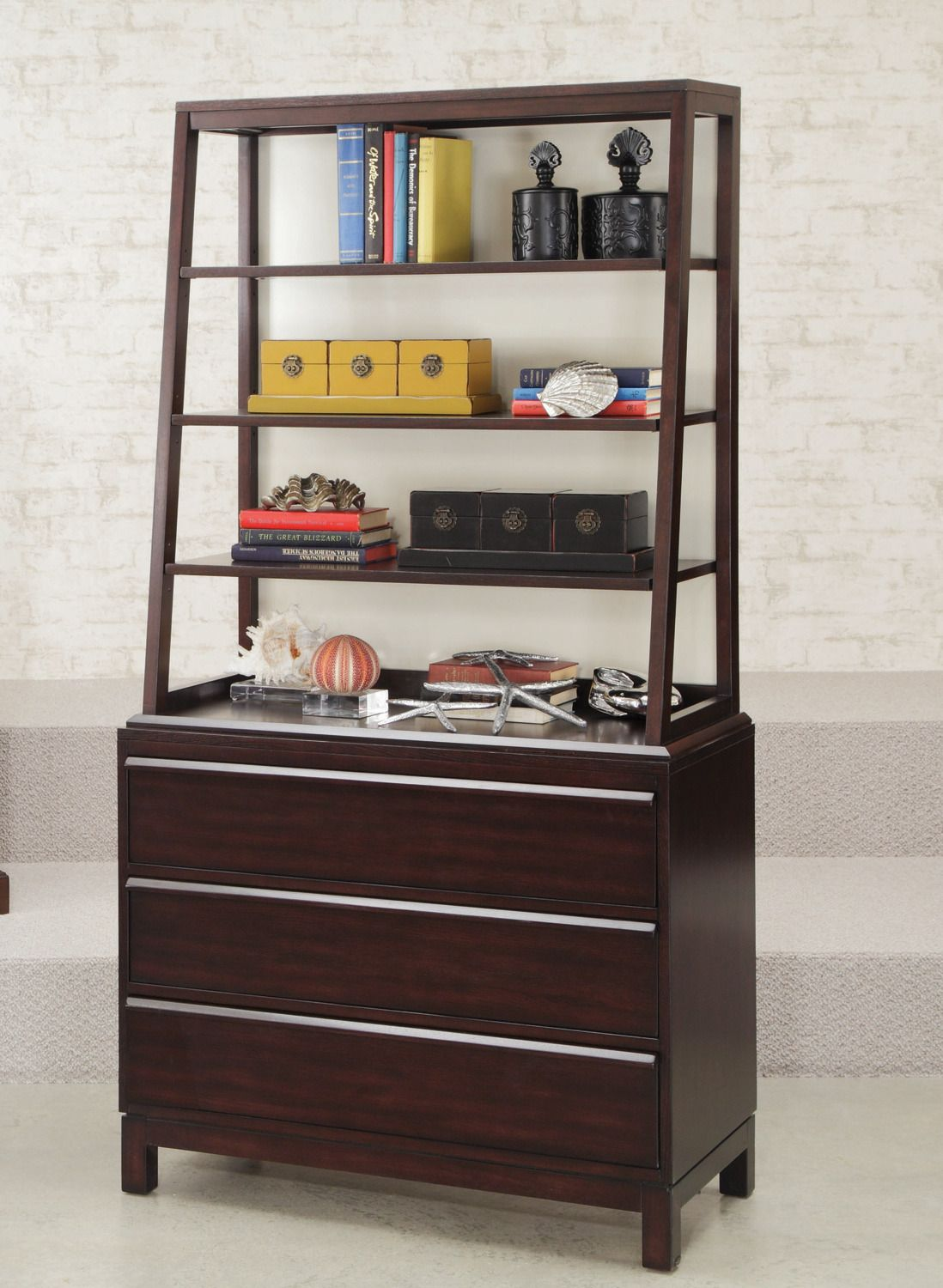 Hidden Treasures Bookcase Hammary Furniture Home