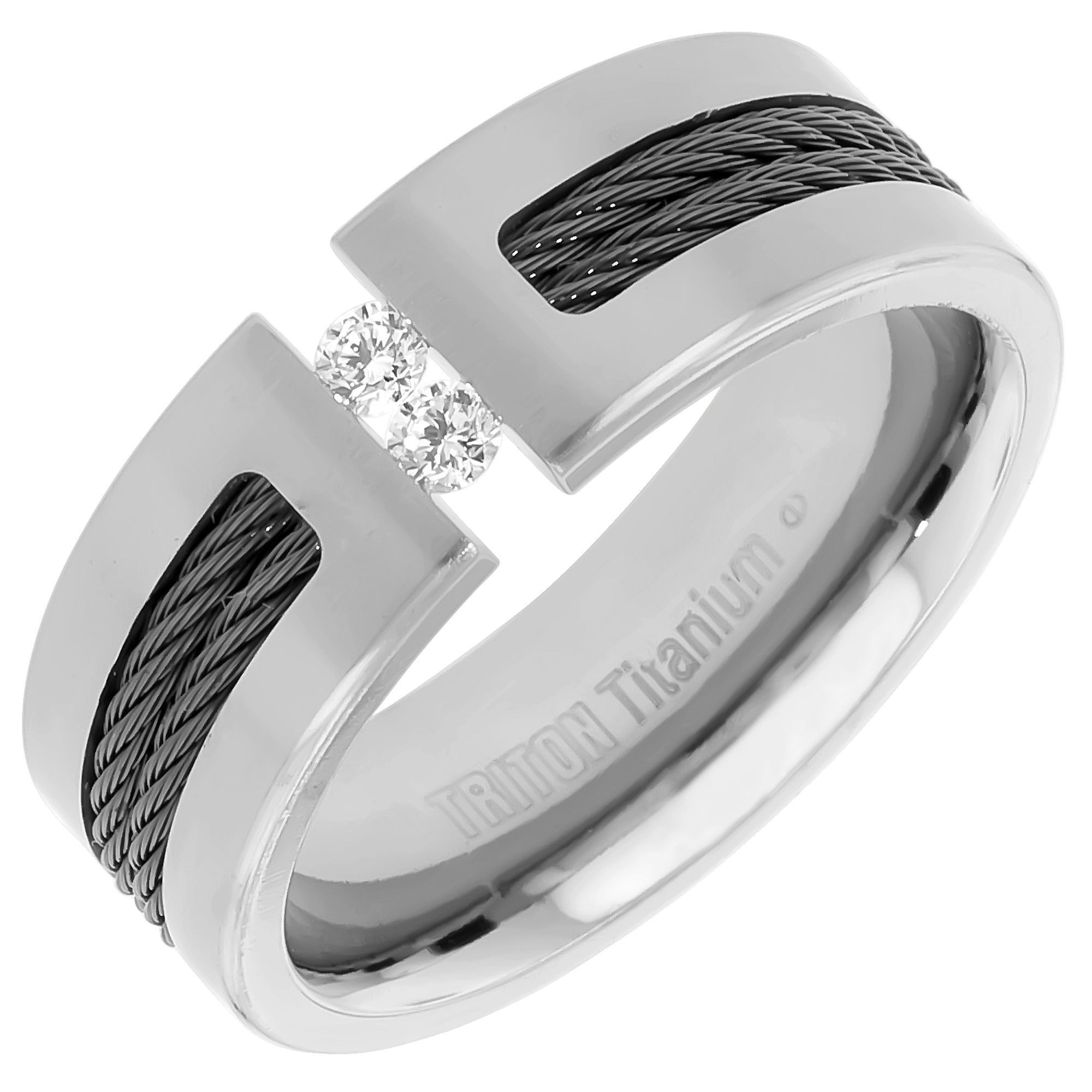 New Cheap Matching Wedding Bands for Him and Her