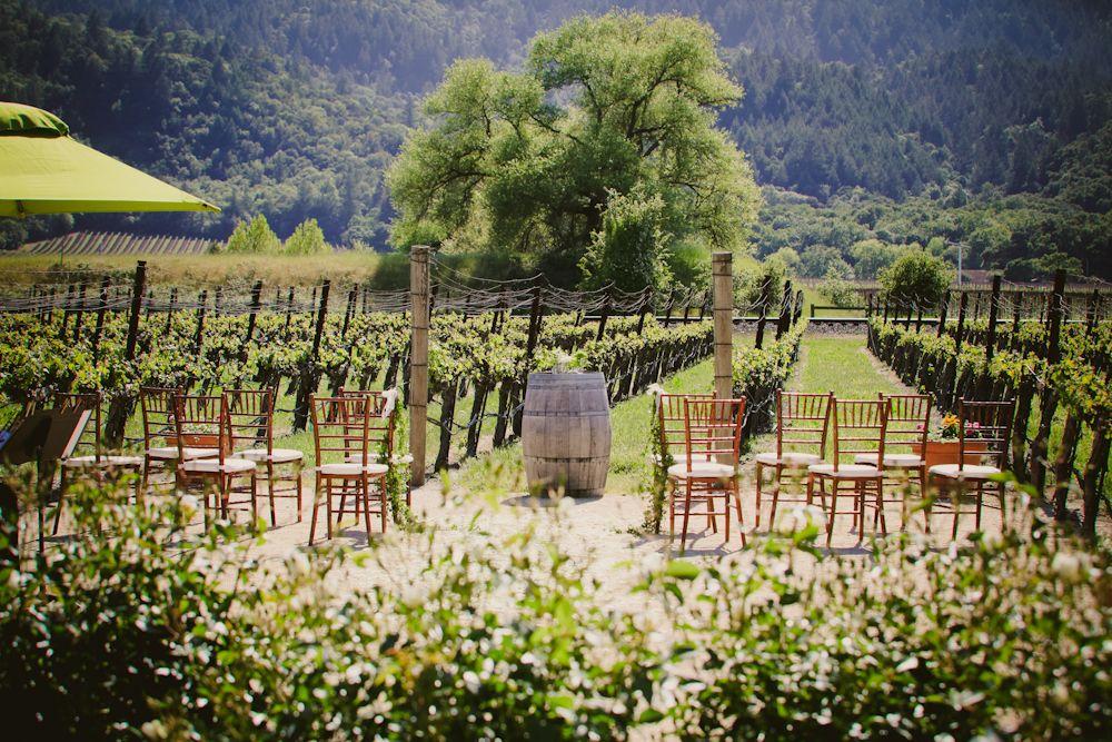 Wedding Venues Napa Valley Vineyard Garden Run Away With Me