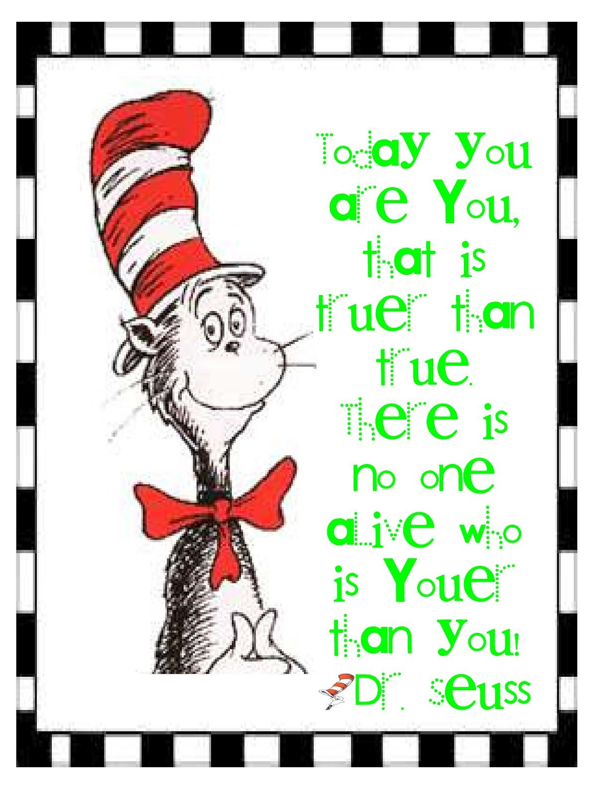 dr seuss clip art | More Freebies: Dr. Seuss | DIY-Dr. Seuss/free ...