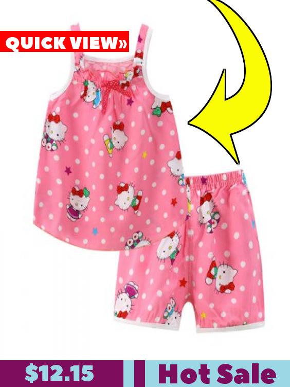 Summer New Children  39 s Clothing Girls Suit Cotton Silk Dress Skirt Korean  Version a93a3eed4
