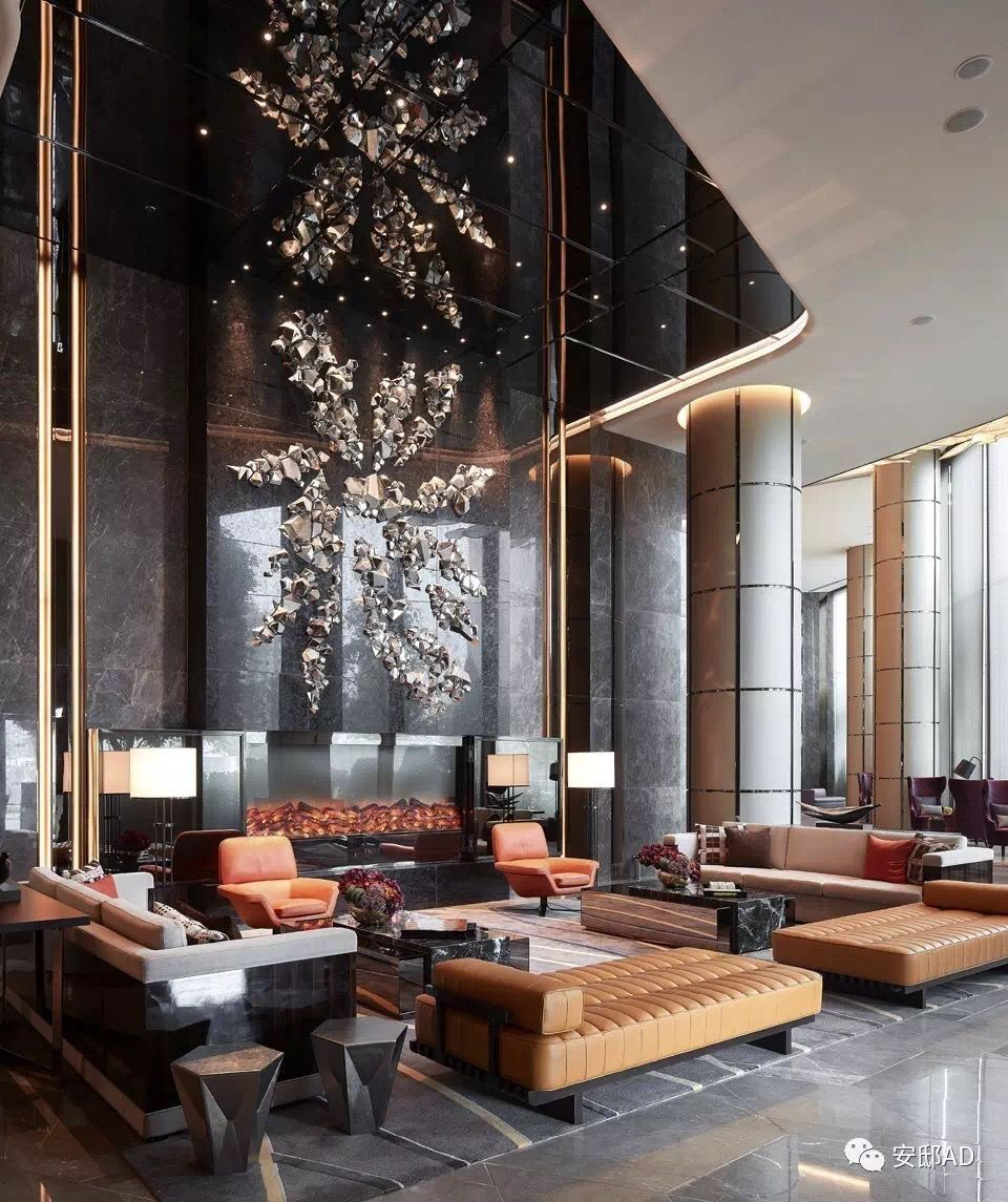 Create A Luxurious Yet Modern Hotel Lobby Using These
