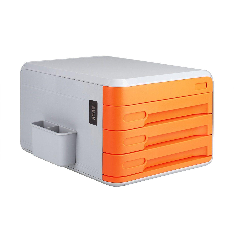 desk office file document paper. Amazon.com : Combination Coded Business File Document Sorter Organizer Office Desk Paper Holder With Pen Holder, 3 Drawers, Labels (Orange)