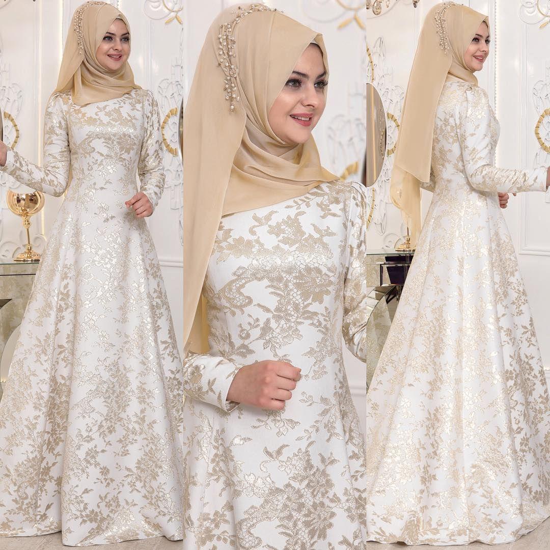 2018 Tesettur Sunnet Annesi Abiye Elbise Modelleri Https Www Tesetturelbisesi Com 2018 Tesettur Sun Metallic Prom Dresses Hijab Dress Party Fashion Dresses