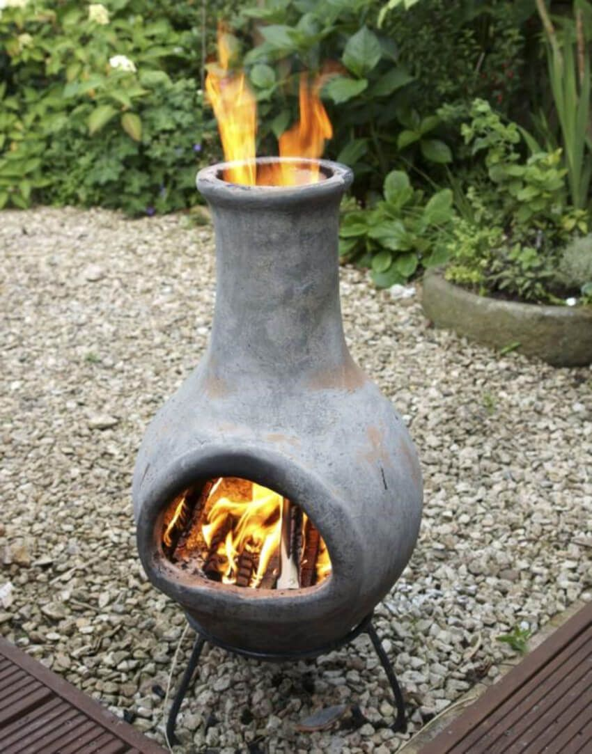 You Ll Fall In Love With These Hardscaping Ideas For Small Backyards Outdoor Fire Pit Outdoor Fire Chimnea Outdoor