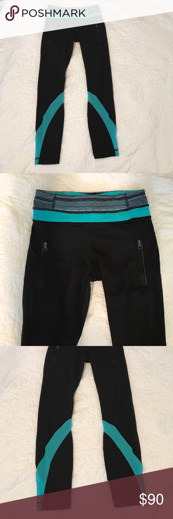 Lululemon inspire tight Lightly used condition, only worn once or twice. No damage or pilling. No trades. 7/8 length lululemon athletica Pants