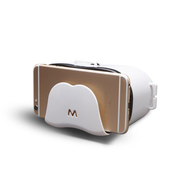 VR-S Google Cardboard 3D VR Glasses For iPhone 6s Plus 6 Plus Samsung Xiaomi Phone 4.7-6.5 Inch Sale - Banggood.com