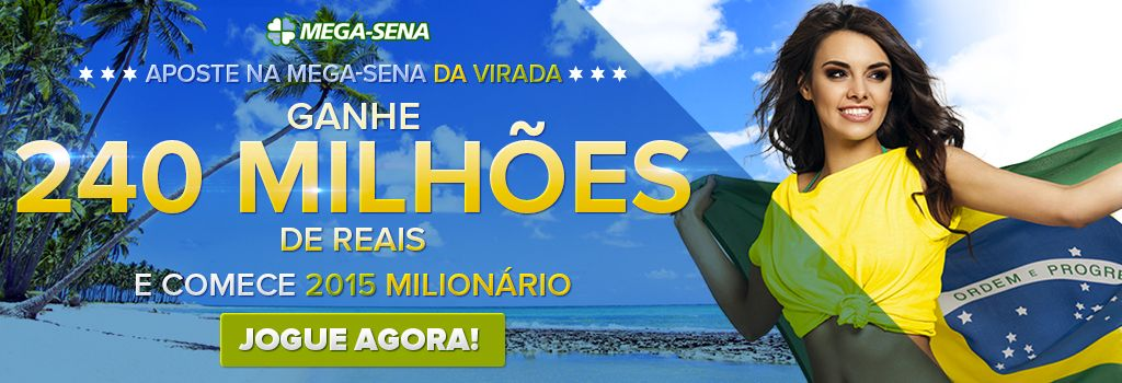 #mega da virada 2014 no GrandesLoterias.com!