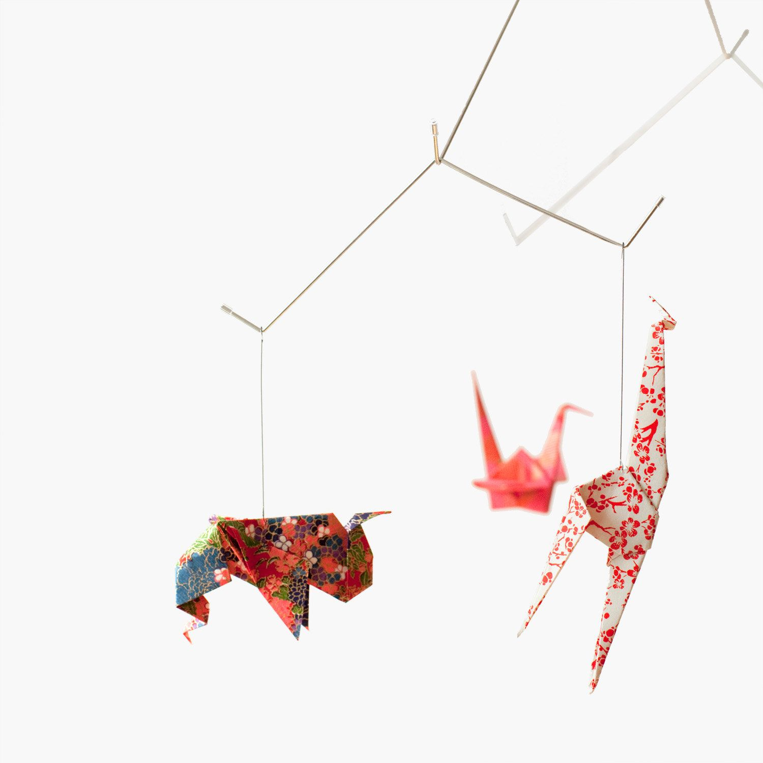 Not only for the little ones. Baby Crib Origami Mobile ... - photo#38