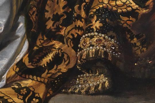 Brush work of Anthony Van Dyck
