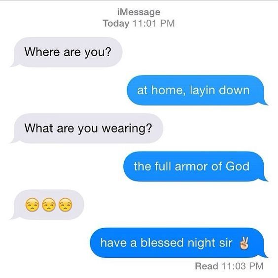 Texting first christian dating
