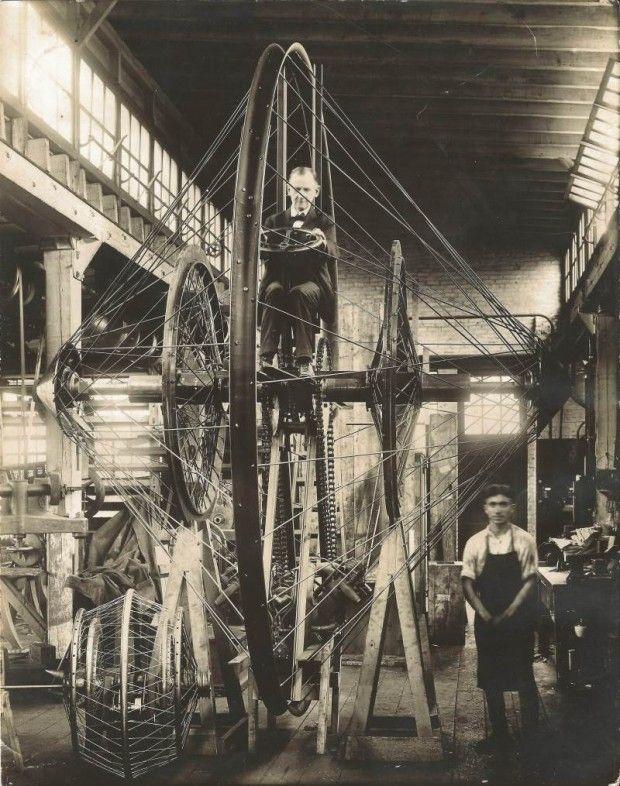 1923: The Christie Monowheel.