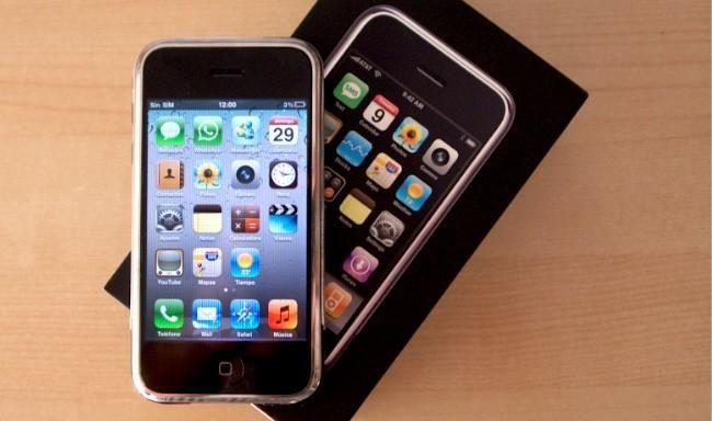 Imagen de la semana: siete años de iPhone