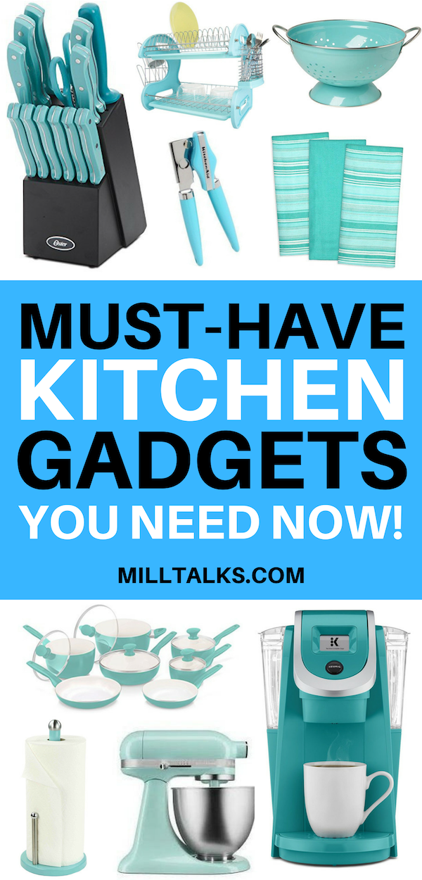 Must Have Kitchen Gadgets | Millennial Talks