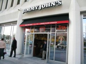 Jimmy Johns Located On 23rd Street Next To Buffalo Wild