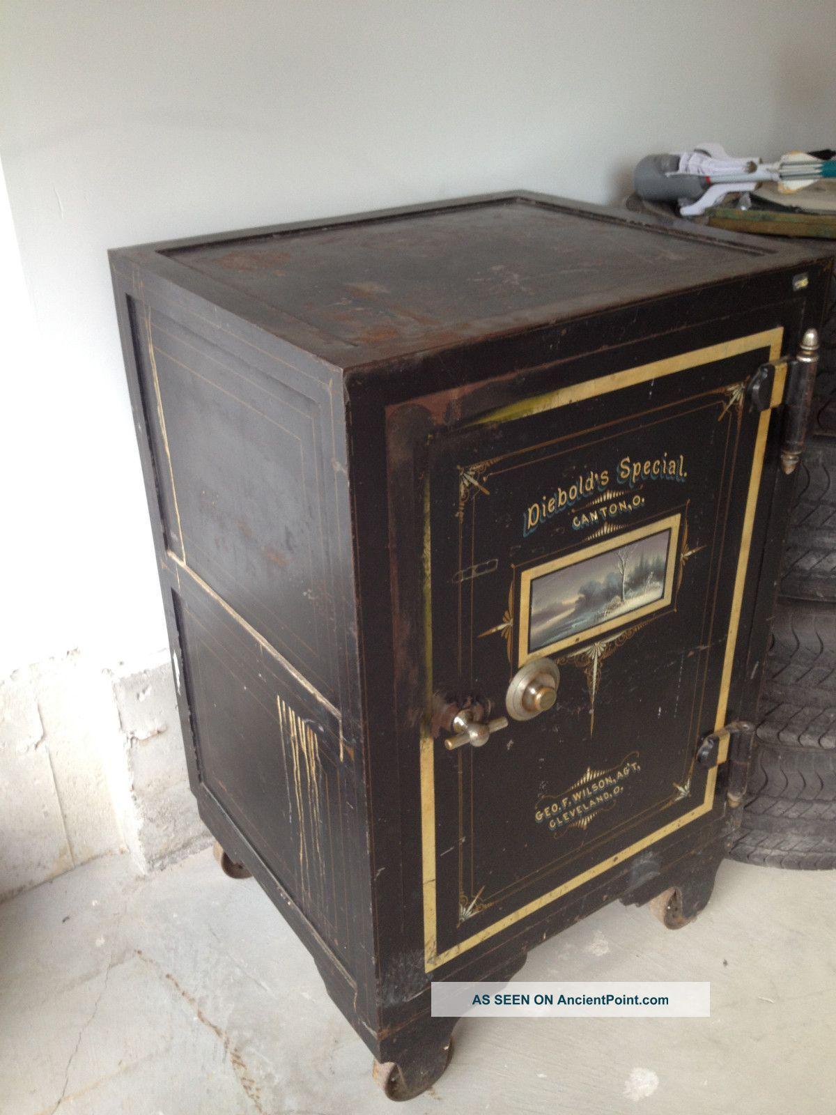 Diebold Safe 1870 S Antique Safe Vault Doors Safe Lock