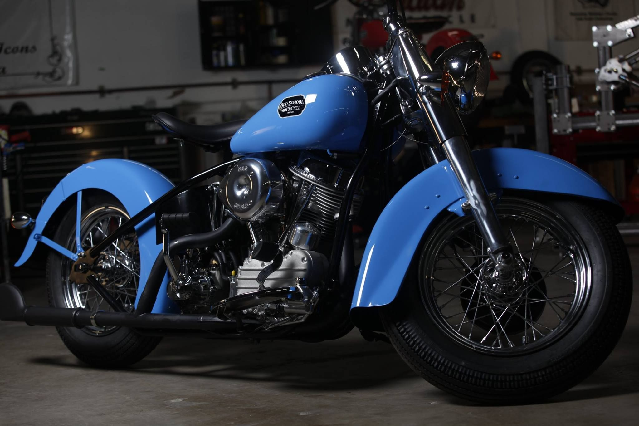 Time Bandit Classic Specification Old School Motorcycles