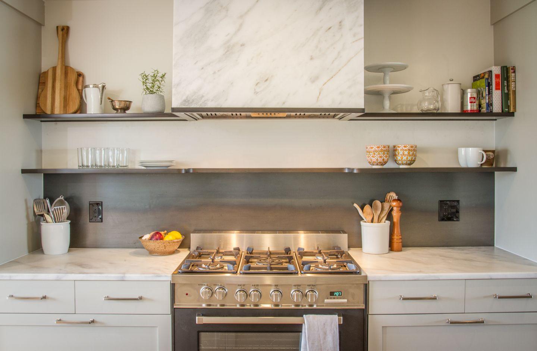 Kết quả hình ảnh cho kitchen Backsplash Shelving